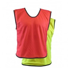 CARTA REVERSIBLE MESH BIBS (YELLOW-RED)
