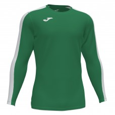 ACADEMY III LS SHIRT (GREEN-WHITE)