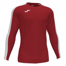 ACADEMY III LS SHIRT (RED-WHITE)