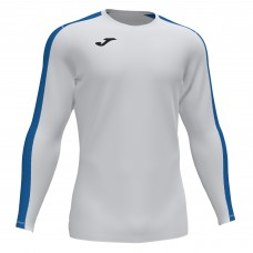 ACADEMY III LS SHIRT (WHITE-ROYAL)