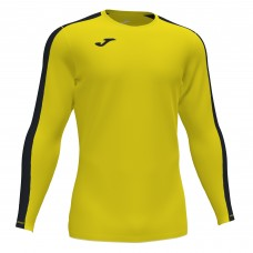 ACADEMY III LS SHIRT (YELLOW-BLACK)