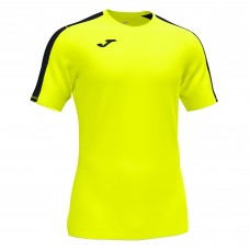 ACADEMY III SS SHIRT (FLUOR YELLOW-BLACK)