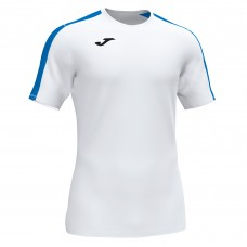 ACADEMY III SS SHIRT (WHITE-ROYAL)