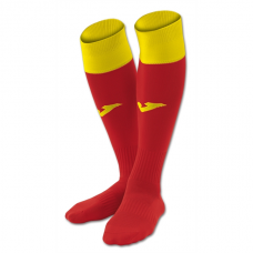 CALCIO 24 SOCKS (RED-YELLOW)