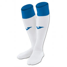 CALCIO 24 SOCKS (WHITE-ROYAL)