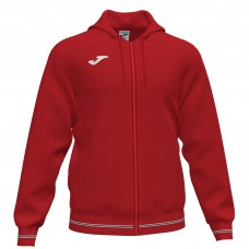 CAMPUS III HOODED FZ TOP (RED)