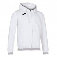 CAMPUS III HOODED FZ TOP (WHITE)