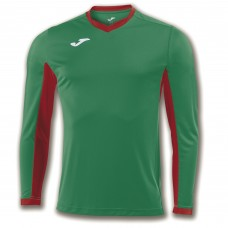 CHAMPION IV LS SHIRT (GREEN-RED)