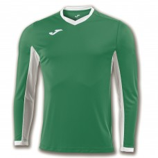 CHAMPION IV LS SHIRT (GREEN-WHITE)