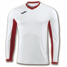CHAMPION IV LS SHIRT (WHITE-RED)
