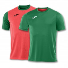 COMBI REVERSIBLE T-SHIRT (GREEN-ORANGE FLUOR)