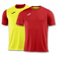 COMBI REVERSIBLE T-SHIRT (RED-YELLOW FLUOR)