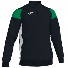 CREW III HZ POLY TOP (BLACK-GREEN)