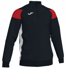 CREW III HZ POLY TOP (BLACK-RED)