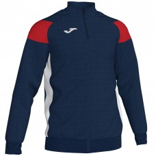 CREW III HZ POLY TOP (NAVY-RED)