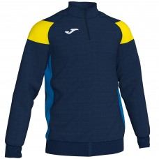 CREW III HZ POLY TOP (NAVY-YELLOW)