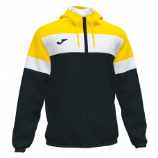 CREW IV RAIN JACKET (BLACK-YELLOW)