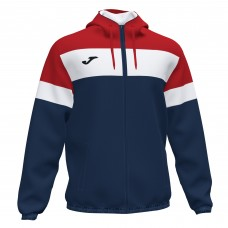 CREW IV RAIN JACKET (NAVY-RED)