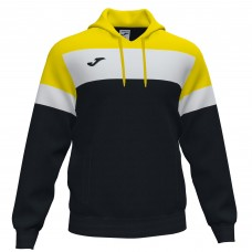 CREW IV HOODED SWEATSHIRT (BLACK-YELLOW)