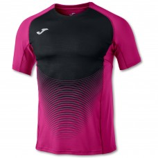 ELITE VI SS T-SHIRT (PINK-BLACK)
