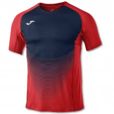 ELITE VI SS T-SHIRT (RED-DARK NAVY)