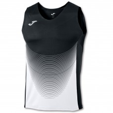 ELITE VI SLEEVELESS T-SHIRT (BLACK-WHITE)