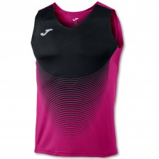 ELITE VI SLEEVELESS T-SHIRT (PINK-BLACK)