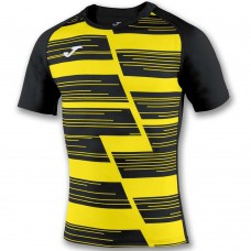 HAKA SHIRT (YELLOW FLUOR-BLACK)