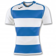 PRORUGBY SHIRT (WHITE-ROYAL)
