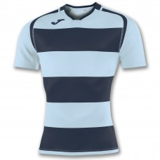 PRORUGBY SHIRT (SKY-DARK NAVY)