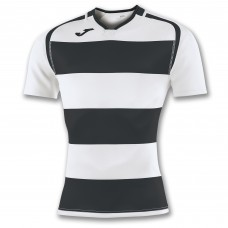 PRORUGBY SHIRT (WHITE-BLACK)