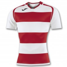 PRORUGBY SHIRT (WHITE-RED)