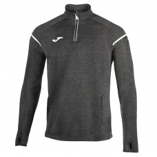 RACE HALF ZIP SWEATSHIRT (GREY)