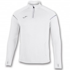 RACE HALF ZIP  SWEATSHIRT (WHITE)