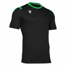 ALHENA SHIRT (BLACK-GREEN)