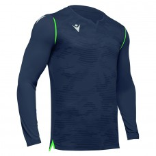 ARES GK SHIRT (ANTHRACITE-NEON GREEN)