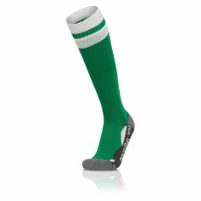 AZLON SOCK (GREEN-WHITE)
