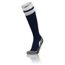 AZLON SOCK (NAVY-WHITE)