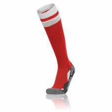 AZLON SOCK (RED-WHITE)