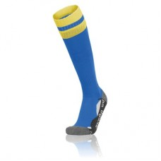 AZLON SOCK (ROYAL-YELLOW)