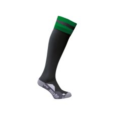 AZLON SOCK (BLACK-GREEN)