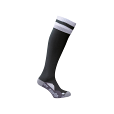 AZLON SOCK (BLACK-WHITE)