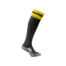 AZLON SOCK (BLACK-YELLOW)