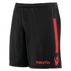 ELBE SHORT (BLACK-RED)