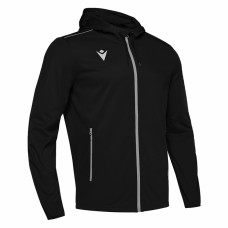ACADEMY FREYR HOODED FZ TOP (BLACK)