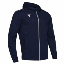 ACADEMY FREYR HOODED FZ TOP (NAVY)