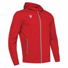 ACADEMY FREYR HOODED FZ TOP (RED)
