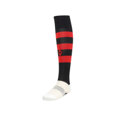 HOOPS SOCK (BLACK-RED)