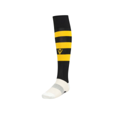 HOOPS SOCK (BLACK-YELLOW)