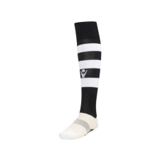 HOOPS SOCK (BLACK-WHITE)